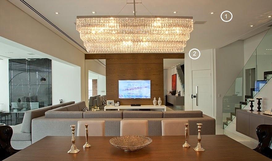 Como iluminar a sala de jantar de acordo com o estilo do ambiente e do mobiliário