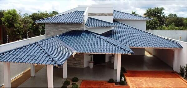 Conheça a telha esmaltada e crie uma cobertura resistente e criativa!